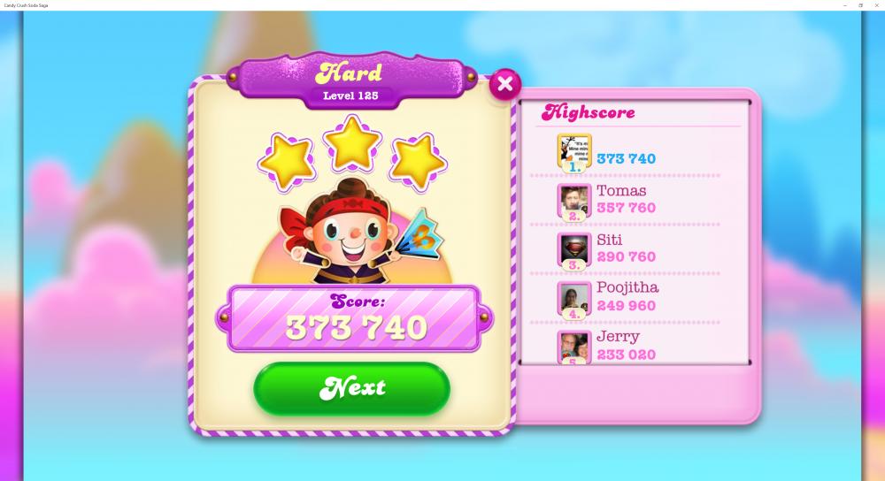 Soda Legends - Level 125 Score 373,740 - Soda Autumn Games Grand Finale - Candy Crush Soda Saga - Origins7 Dale.png