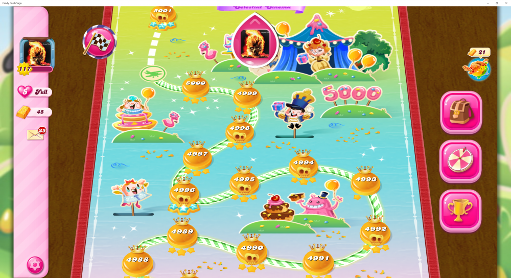 My Map Level 5000 On Candy Crush Saga - Origins7 Dale.png