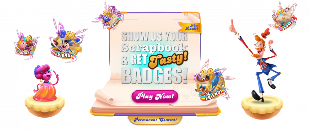 """User: """"Candy Crush Friends Scrapbook New discussion official image updated March 01 2021.png"""""""