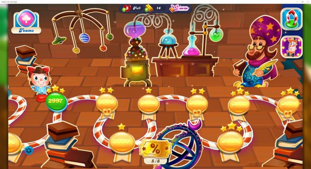 My Map Level 3000 Episode Cupcake Clouds On Candy Crush Soda Saga - Origins7 Dale.png