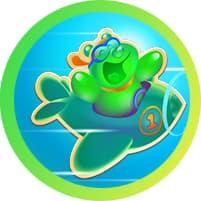 Soda Spring Games Badge