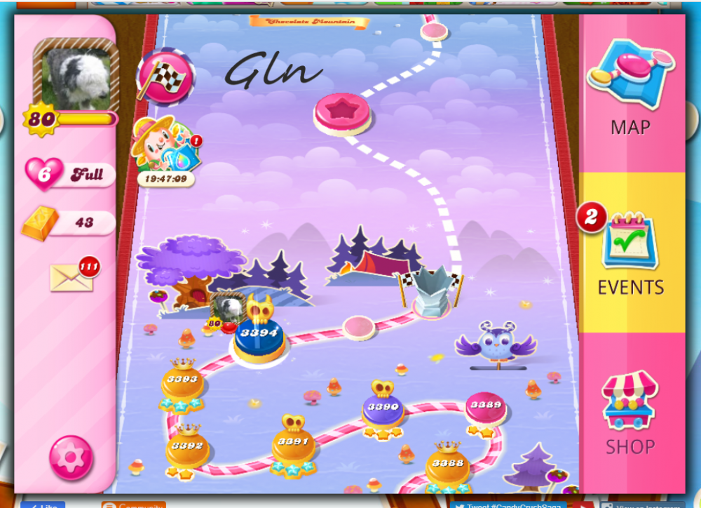 CCS - Yeti's Candy Tournament wk 13  Level 3394 3rd June 2021.png