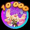 Candy Level 10 000 Celebration!