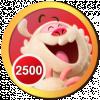 2,500 Haha