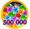 Bubble 500k Points
