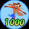 1,000 Woah!