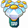Crash-120 Power Gems