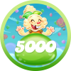 Jelly level 5000