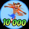 10,000 Woah!