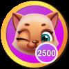 2,500 Sassy