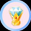 Candy Trophy Diamond