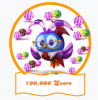 Friends 100k score Club