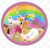 Jelly Rainbow Badge