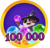 Bubble 100k Points