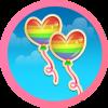 Candy Rainbow Love