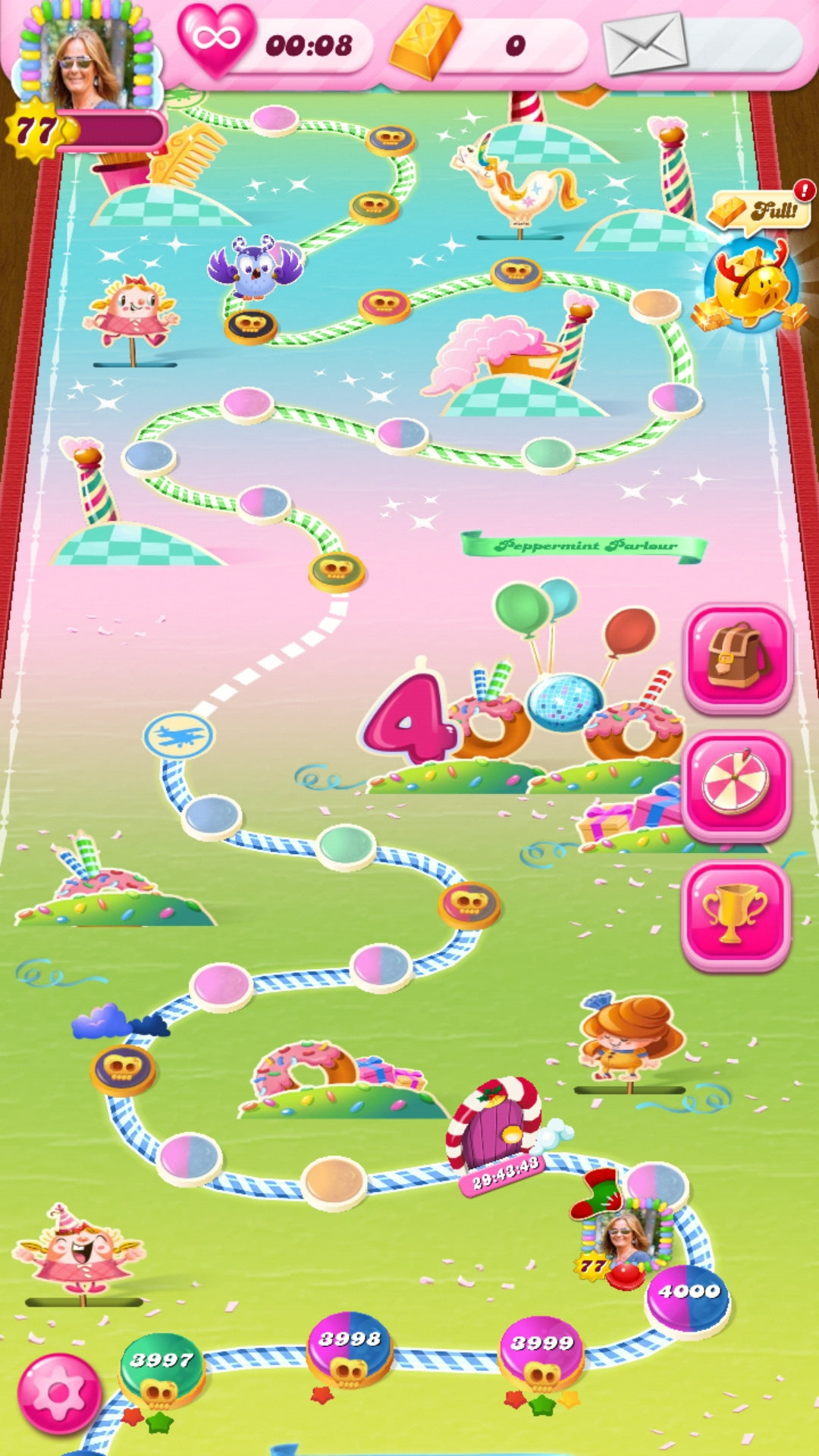 The highest level on candy crush