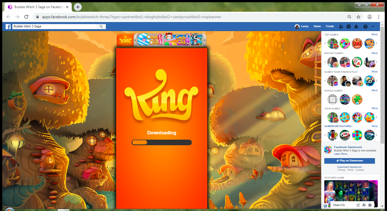 Game keeps being slow on Facebook! — King Community