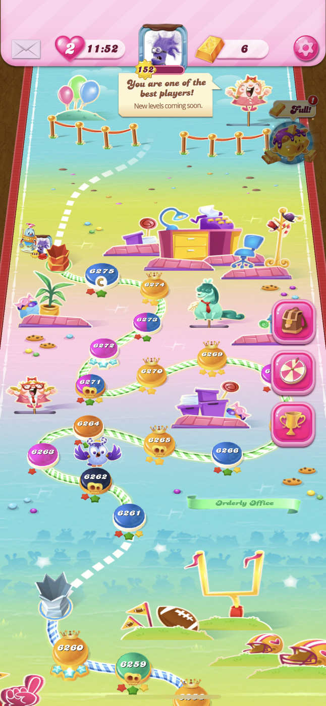 Level on candy the crush highest How many