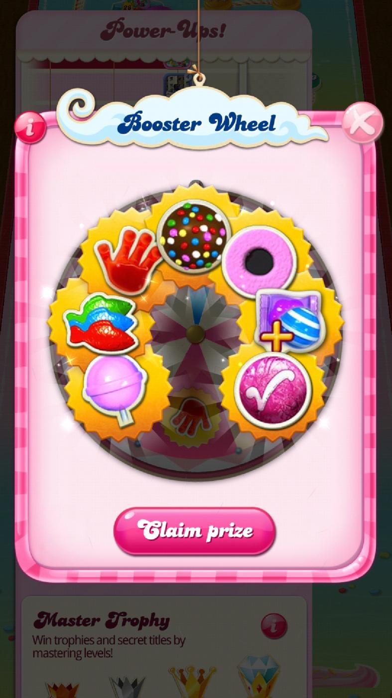 Candy Crush Saga Booster