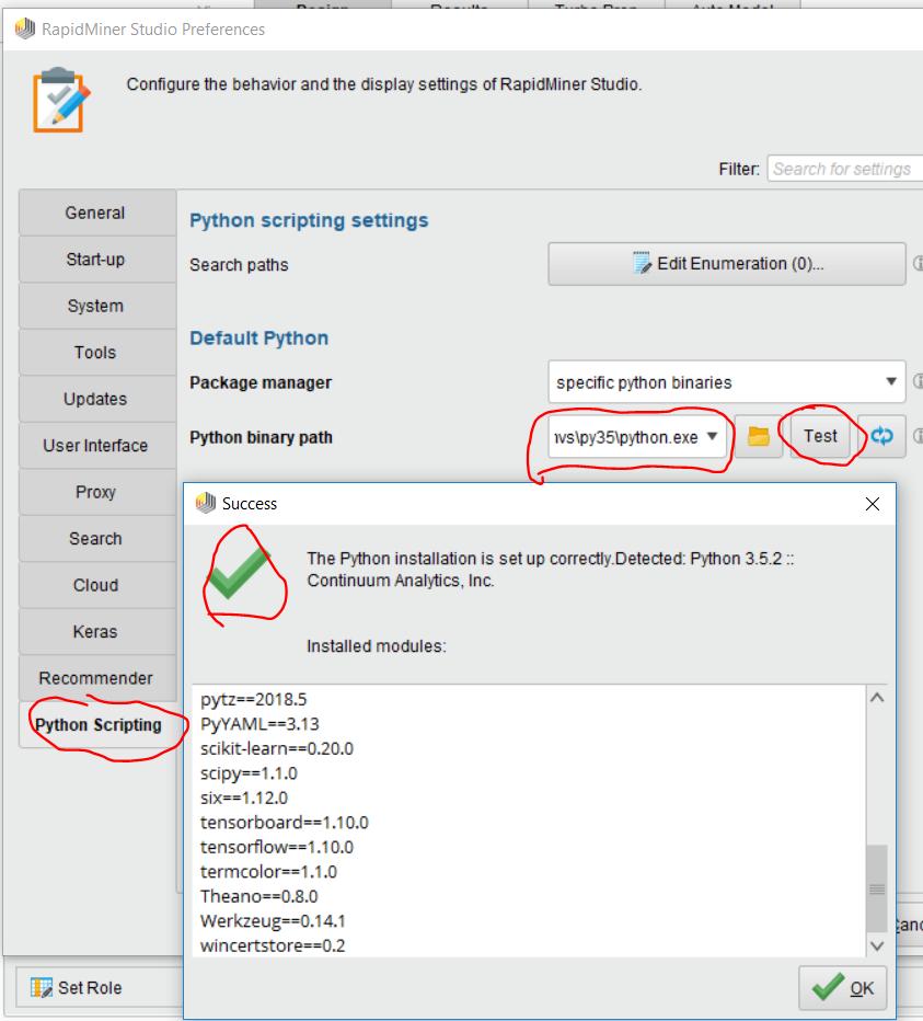 Error when executing operator — RapidMiner Community