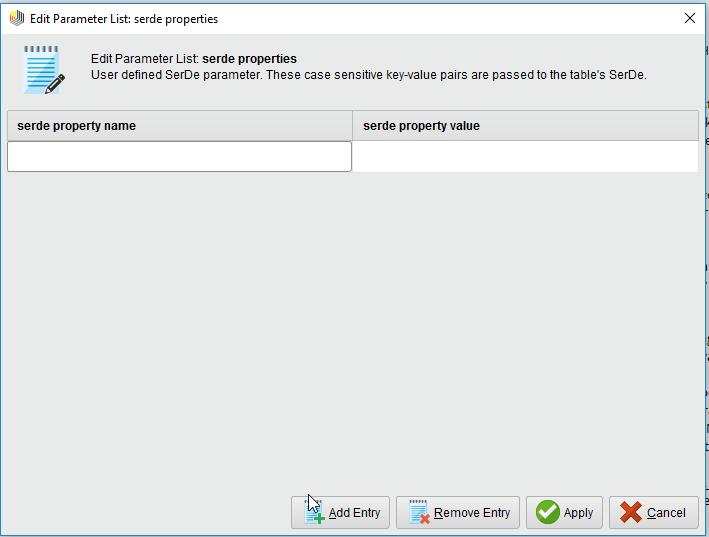 Custom storage handlers on Hadoop when using Radoop