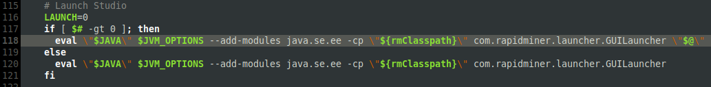 Ubuntu 184 1 LTS: Error when installing Rapidminer Stuidio
