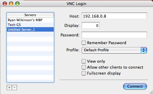 Java VNC client? — HARMAN Professional Forums