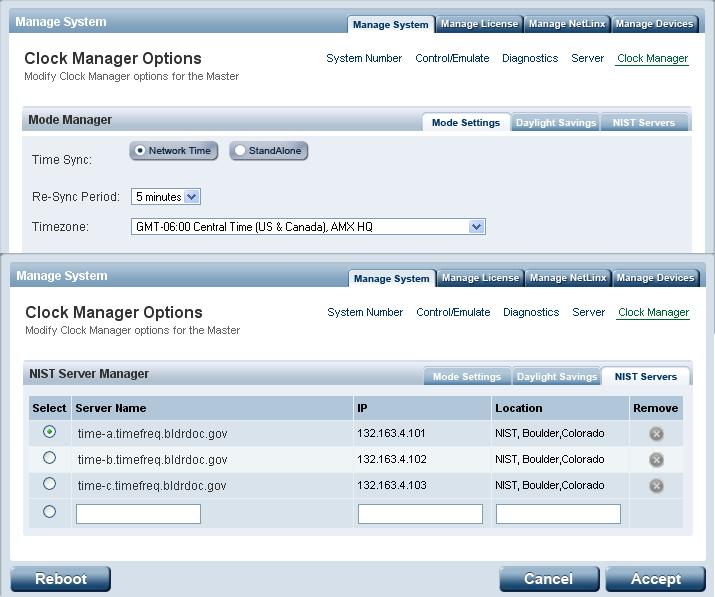 Clock Manager not working? — HARMAN Professional Forums