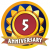 Fifth Anniversary