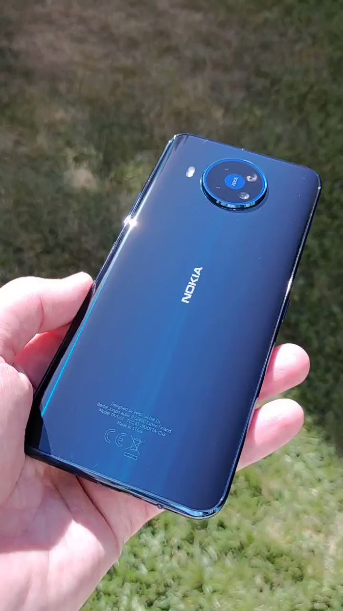 Teaser The First Look At The Back Of A Real Nokia 8 3 Nokia Phones Community