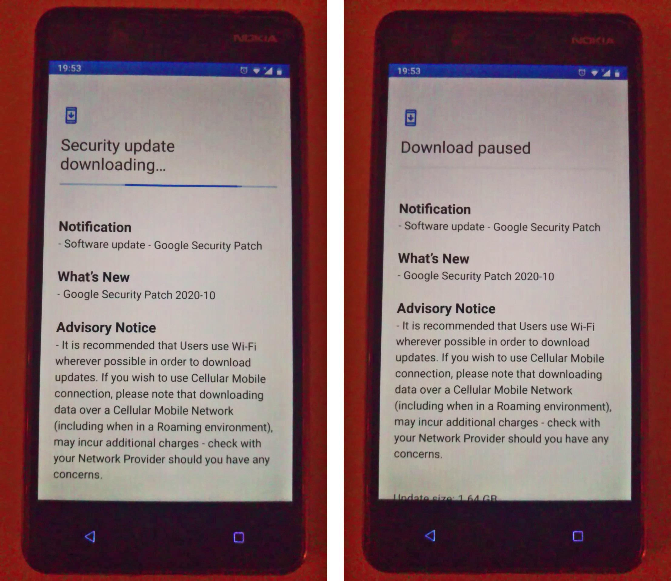 2020-12-17 Nokia 8 update loop failure.jpg