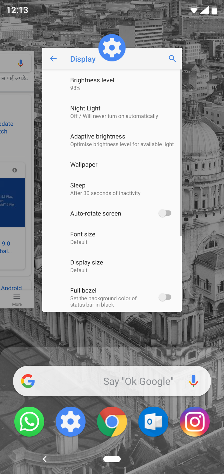 Android Pie Ims Settings