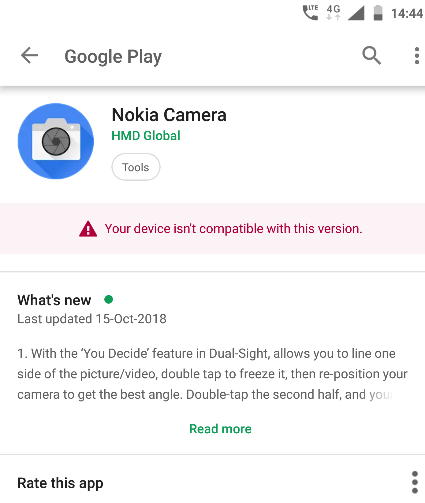 google camera not on play store