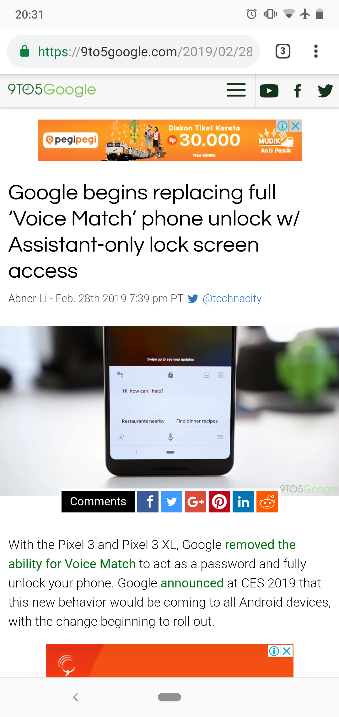Ok Google service not working after February update  — Nokia