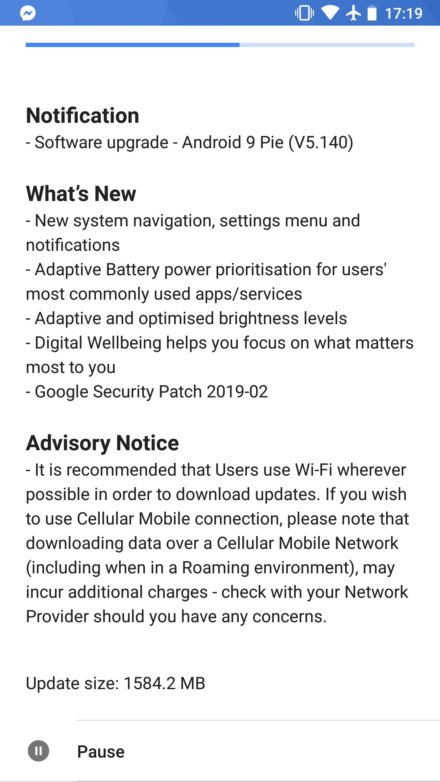 Android Pie update for Nokia 8 (2017) - Page 7 — Nokia phones community