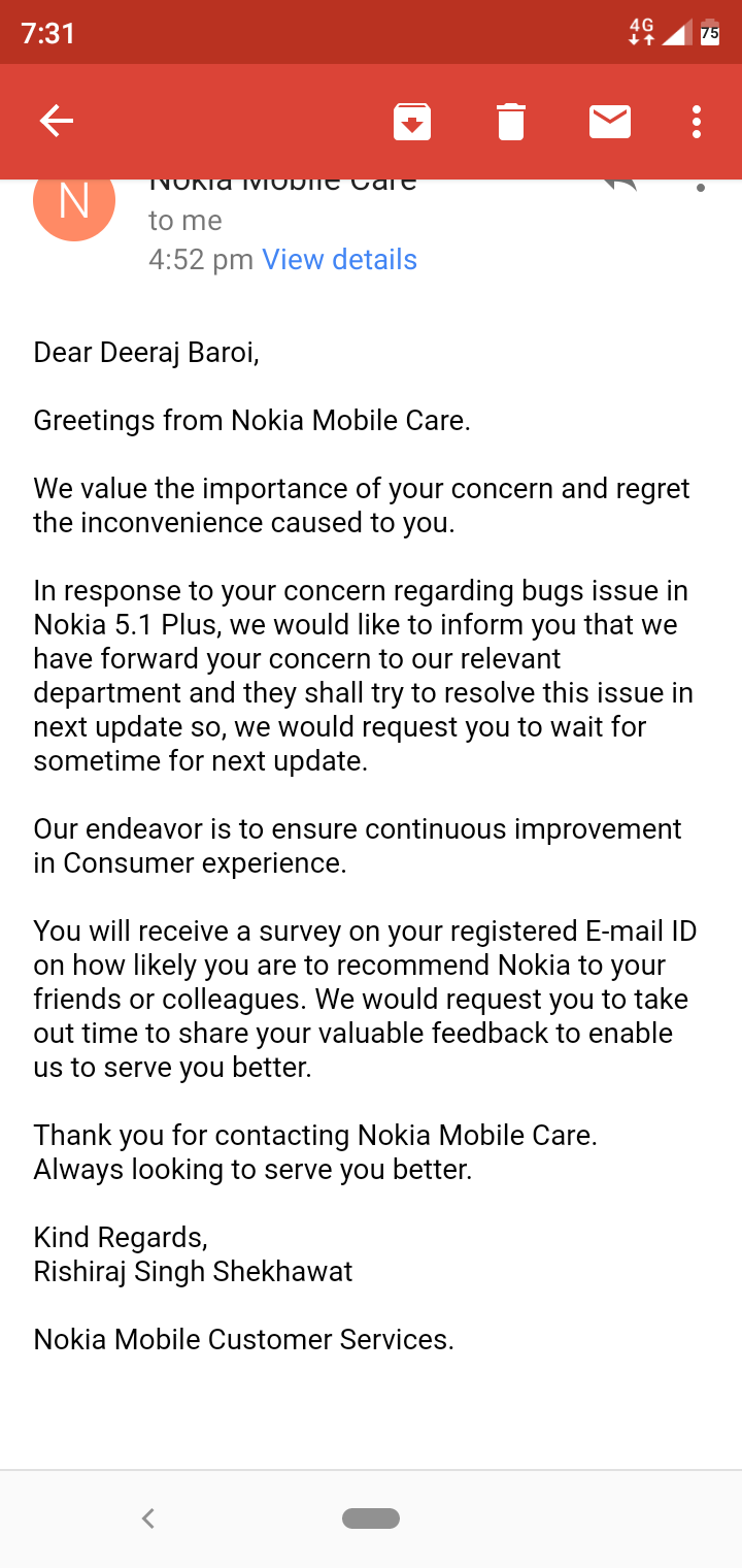 Issues with Android Pie Update — Nokia phones community