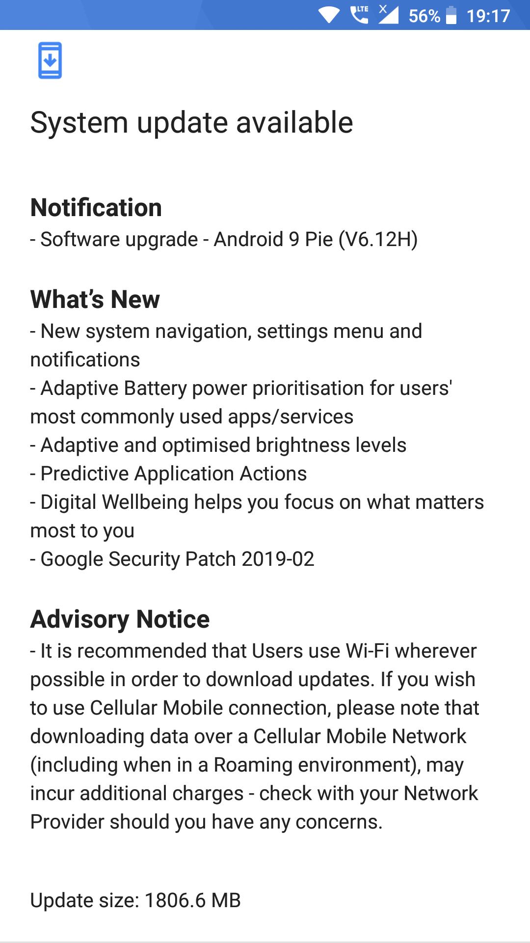 Android Pie Finally For Nokia 6(TA-1021) — Nokia phones