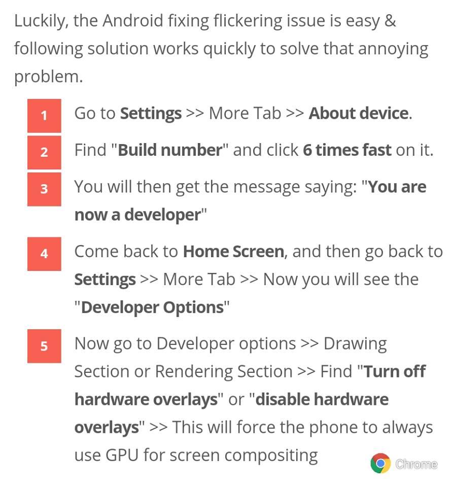 Screen filkring or blinking problem in Nokia 6 1 plus