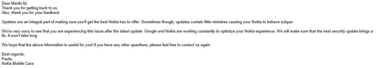 How to fix missing fingerprint sensor after PIE update? — Nokia