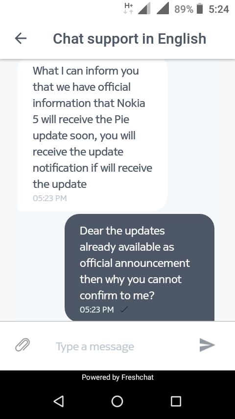 Nokia 5 Pie 9 0 — Nokia phones community