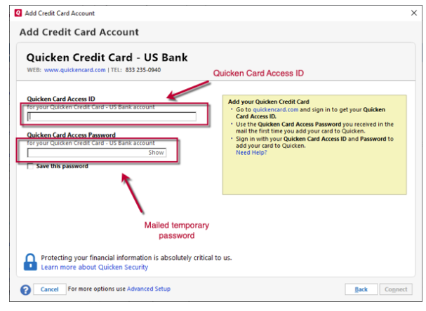 How to set up credit cards? — Quicken