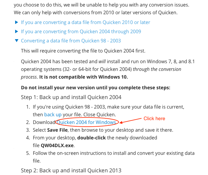 How can I download Quicken 2004? \u2014 Quicken
