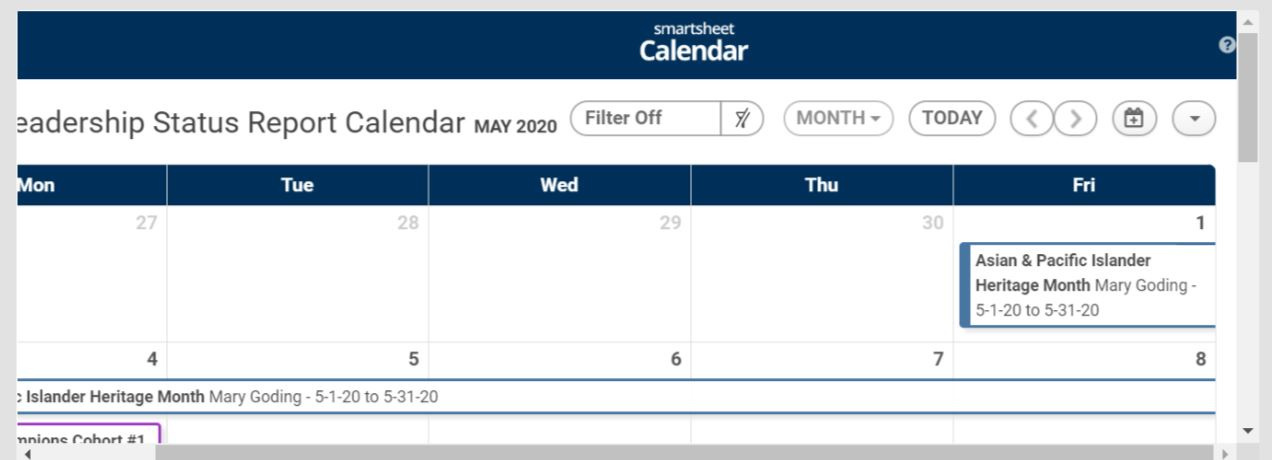 SS Calendar on Dashboard.JPG