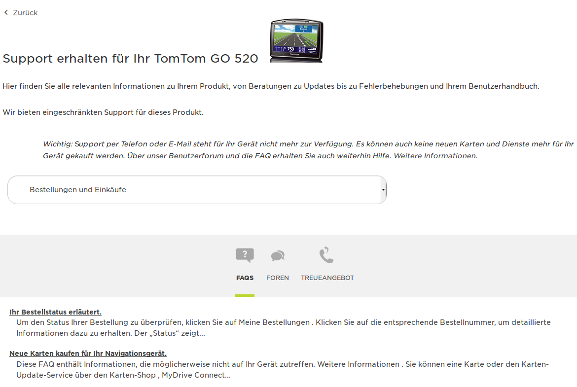My order was not delivered, now what??? — TomTom Community