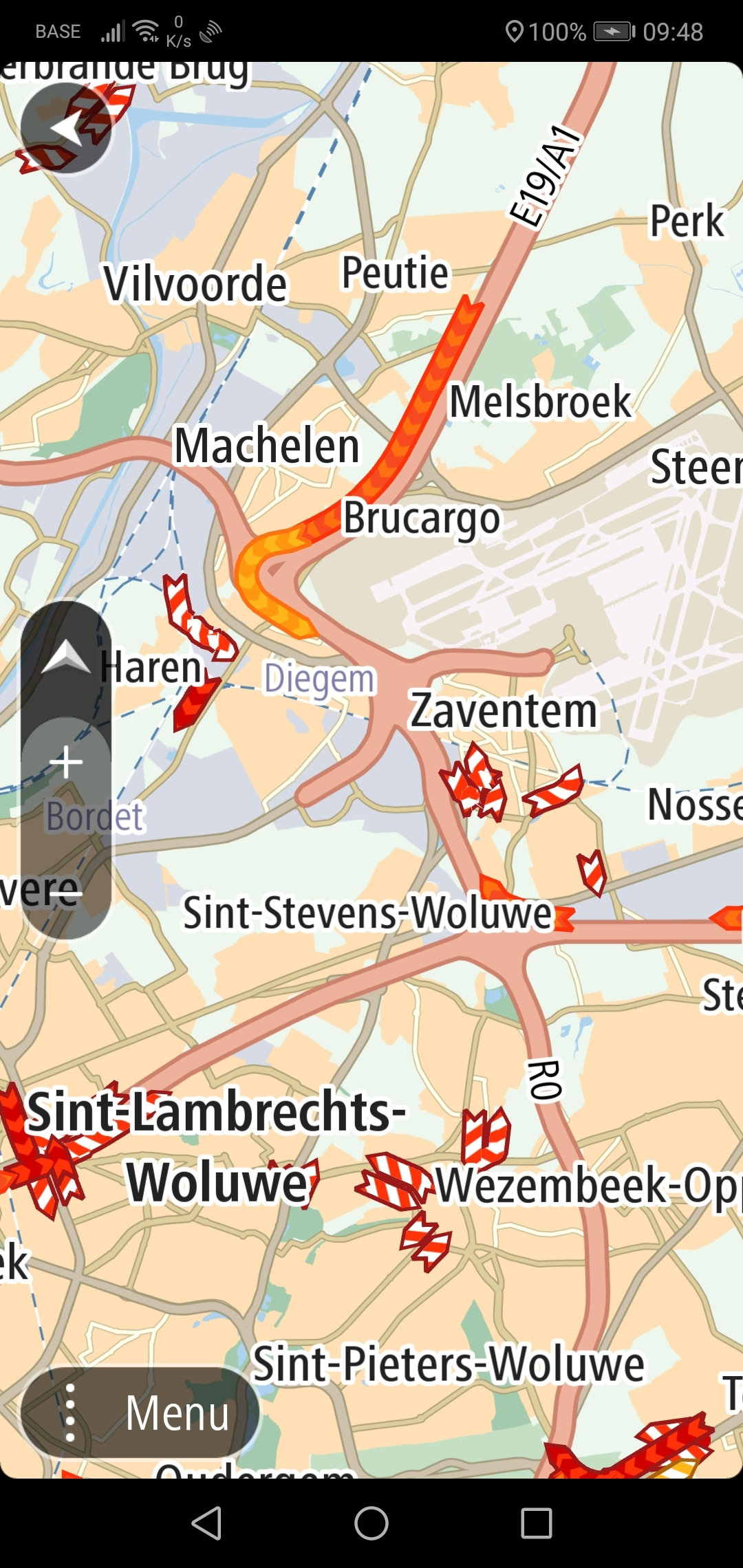 Cannot connect to TomTom- Try again later- GO mobile Android