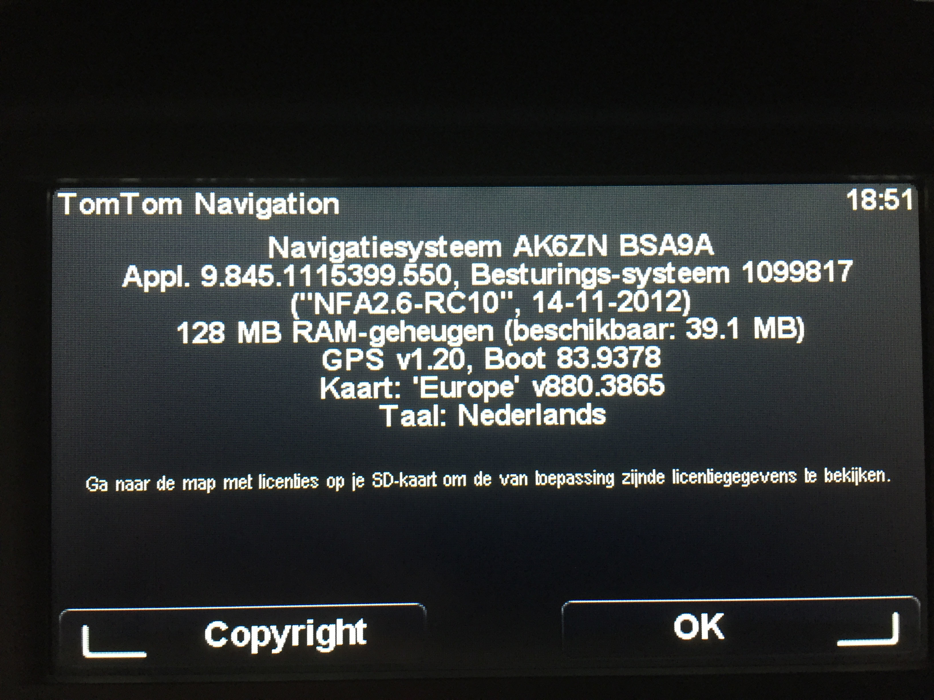 How to update buit-in TomTom Navigation in Renault Master 2012
