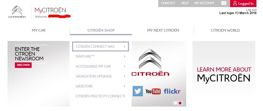 Citroen C4 Picasso Connect Nav usability - Page 7 — TomTom Community