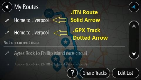 Import GPX routes — TomTom Community