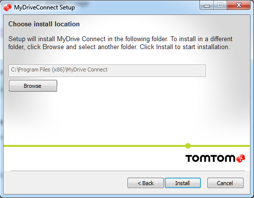 tomtom mydrive connect download windows 8