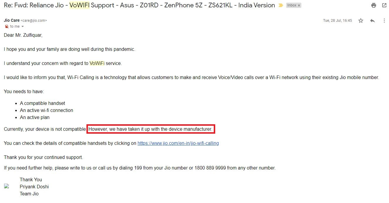 Asus 5Z - Vowifi - Jio India Support - July 2020.JPG